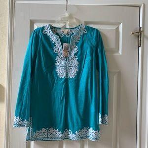 Michael Kors turquoise tunic